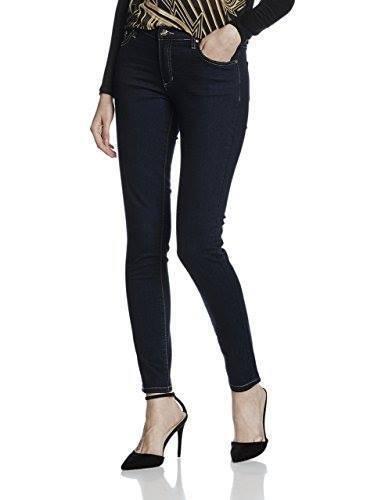 Versace Jeans women's skinny, dark deep indigo jeans size W30