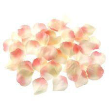 Faux Silk Rose Petals Bulk Bag of 1000 Champagne Pink