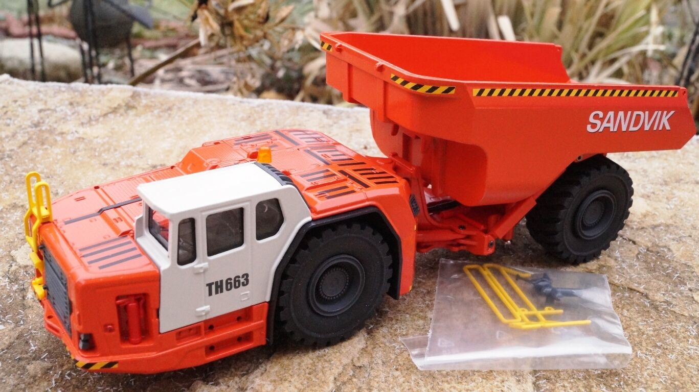 Conrad  SANDVIK Dumper TH663   Neu OVP scale 1 50 Art 2767 0  | Up-to-date Styling