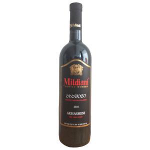 Mildiani Rotwein Akhasheni  0,75L  georgischer Wein lieblich