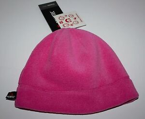NWT Girls Hanna Andersson Polartec Pink Hat Size Large