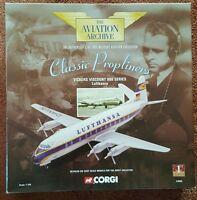 Corgi Aviation Classic Propliners Vickers Viscount 800 Series Lufthansa 47604