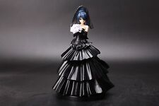 DATE A LIVE Tokisaki Kurumi LONG Wedding Dress BLACK Ver RESIN FIGURE RARE LQQK!