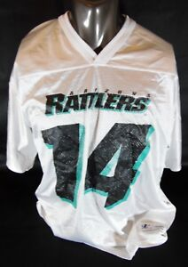 Vintage-Arizona-Rattlers-Hunkie-Cooper-14-White-Logo-Athletic-Jersey-Men-039-s-L