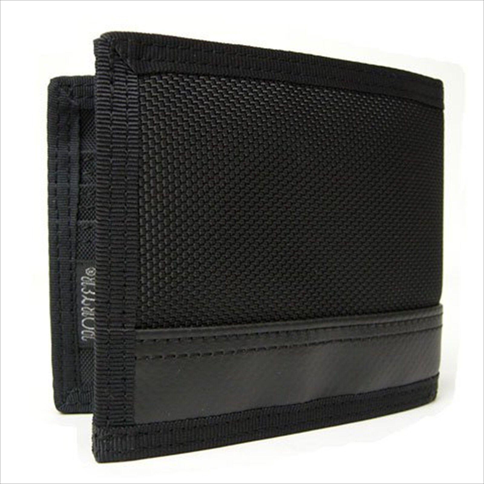 Black YOSHIDA Porter PORTER fold wallet HEAT 703-07976 FROM JAPAN NEW.