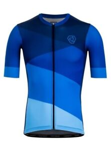 Brand New Verge White Blue Flames Short Sleeve Cycling Jersey XXL 2XL