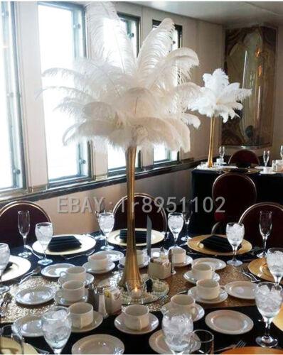 Großhandel 10//50//100 Stück weiß Straußenfedern 25,4-30,5 cm//25-30 cm Hochzeit