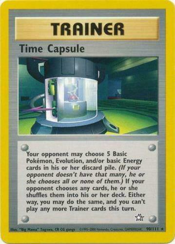 NEAR MINT Time Capsule Rare Unlimited 90//111