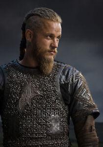 ragnar lodbrok vikings travis fimmel quality canvas print ebay