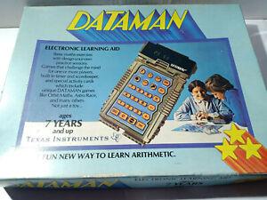 Texas-Instruments-Dataman-Handheld-Electronic-Calculator-Electronic-Learning-Aid