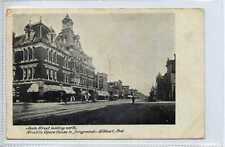 (Gw811-449) Bucklin Opera House, ELKHART, Indiana, USA 1907 Used G-VG