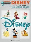 Trumpet Easy Instrumental Play-Along: Disney by Hal Leonard Corporation (Paperback, 2014)