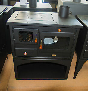Wood-Burning-Stove-Cast-Iron-Top-Plates-Log-Burner-Cooking-Oven-Prity-10-kw