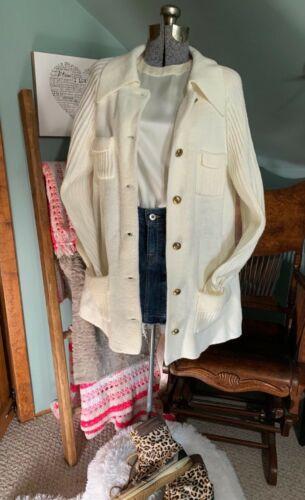 Vintage cardigan sweater jacket