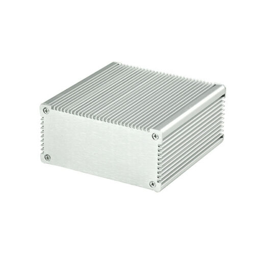 New Aluminum Box Enclosure Case Project electronic for PCB DIY 100*100*48MM Hot