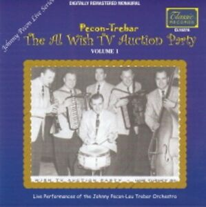 Johnny-Pecon-Lou-Trebar-The-Al-Wish-TV-Auction-Party-Volume-1-NEW-Polka-CD-GOOD