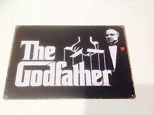 THE GODFATHER *mafi*mancaveWALL art movie star Hollywood Sign Tin Plaque PICTURE