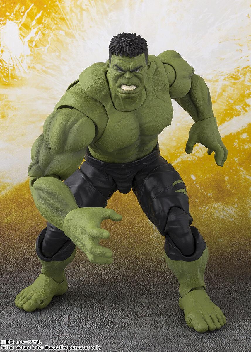 Bandai S.H.Figuarts Hulk (Avengers   Infinity War) War) War) Japan version 09033b