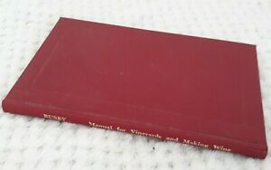 Manual-for-Vineyards-and-Making-Wine-by-James-Busby-1979-Facsimile-of-1830-ed