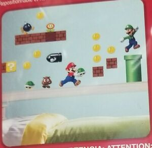 NEW Super Mario Bros Yoshi Decal Wall Sticker Kids room decor U.S SELLER
