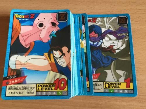 Carte Dragon Ball Z DBZ Super Battle Part 14 #Reg Set BANDAI 1995 MADE IN JAPAN