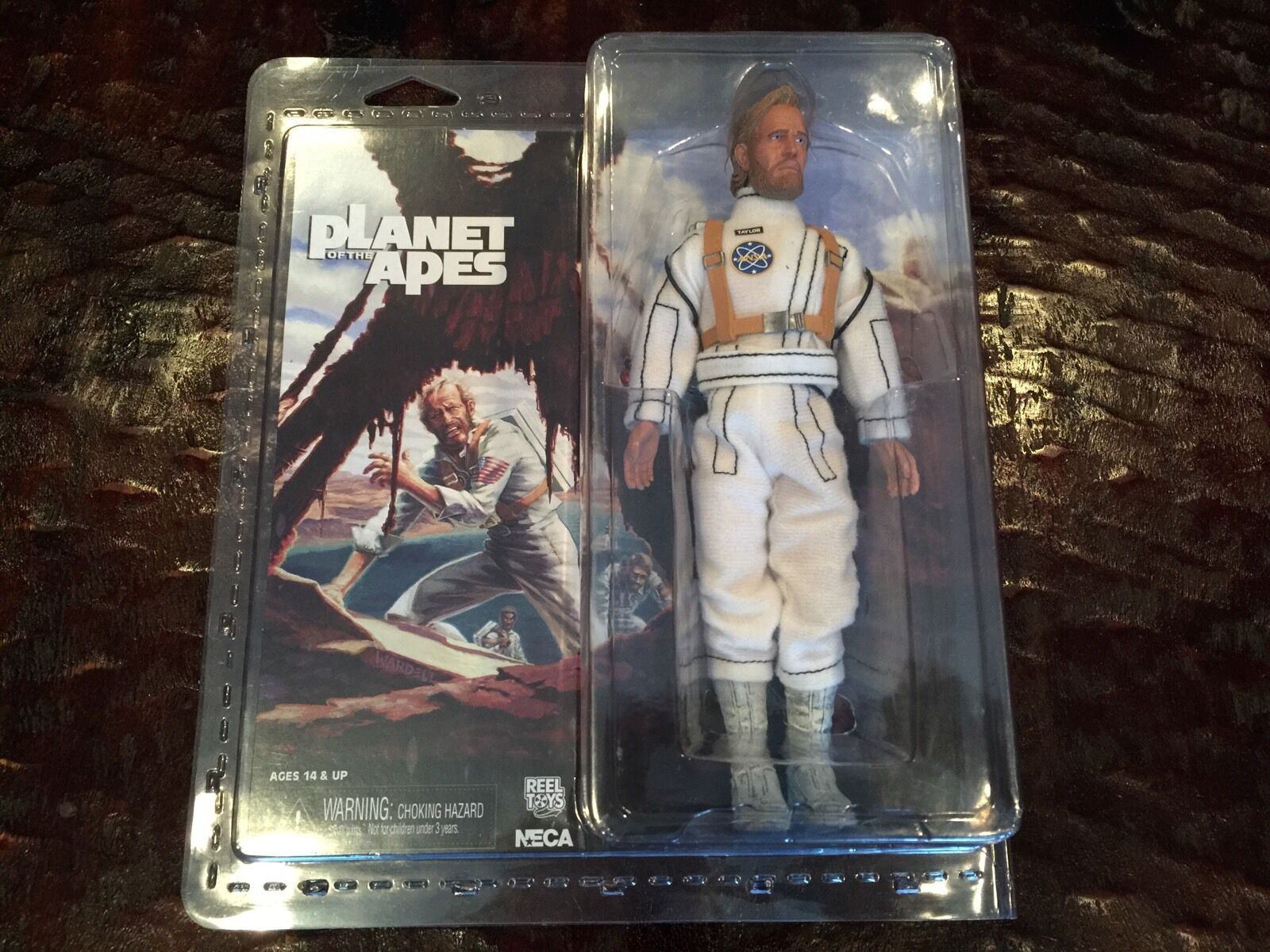 NECA Planet Of The Apes Classic Colonel George Taylor