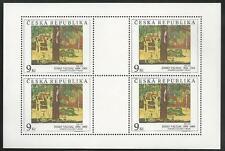 Tschechische Republik aus 1996 ** postfrisch Kleinbogen MiNr.130-131 - Kunst!