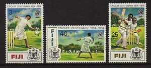 15852-Fiji-1974-MNH-New-Centenary-of-Cricket-in-Fiji