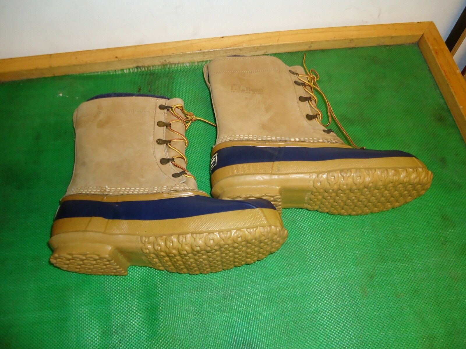 LL Bean  Insulated Maine Hunting Duck  Stiefel Men  SZ  9