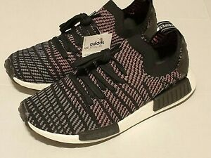 Details about Adidas Originals Men's NMD_R1 Stlt Sneakers Size 10 BLACKMULTI COLOR