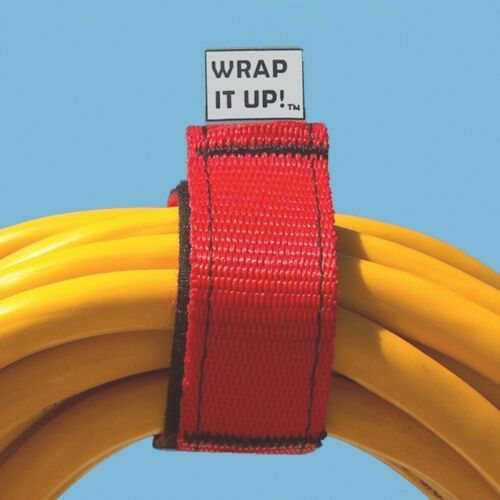 Rope Wrap It Up Hook /& Loops Wraps,Latches Cords Dock Line Hoses 3 Pack WR-123