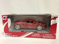 Mclaren Mp4-12c 1:24 Scale Diecast Collectible, Ray Toys City Cruiser, Red