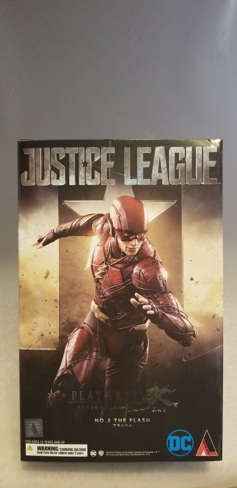 PLAY ARTS JUSTICE LEAGUE THE FLASH FIGURE