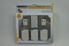 Wireless alarma sistema 100 dB chime/alarm Led 433 Mhz Control Remoto. door/window