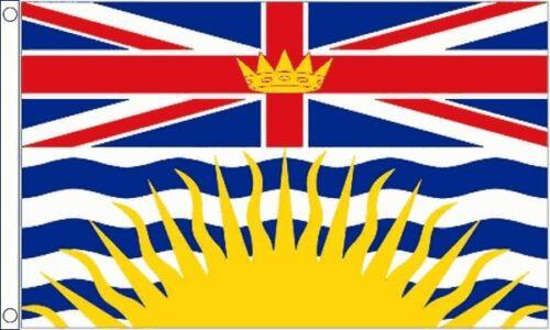 Britisch- Kolumbien 5ft X 0,9 M (150cm X 90cm) Fahne Banner