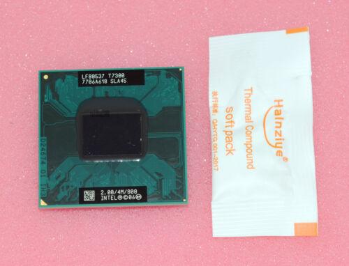 Intel Core 2 Duo T7300 2 GHz Dual-Core 4M 800MHz Processor cpu