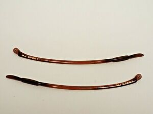 Authentic MAUI JIM MJ-422-26 Breakwall Root Beer Temple Arms