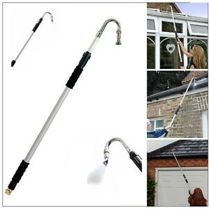 Telescopic Gutter Cleaner Aluminium Extendable Pole Water