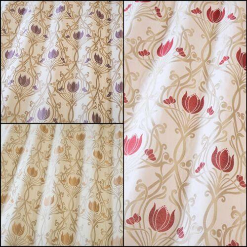IlivLalique Floral Tejido Cortina /& Tela de tapicería3 Colores
