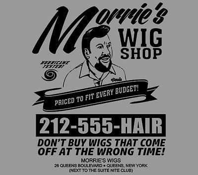 Goodfellas Morrie's Wigs Joe Pesci The godfather Al Capone 2 dvd blu ray T Shirt