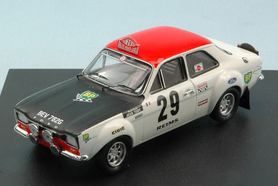 Ford Escort RS 1600 th Monte Carlo rally 1969 J.F. piot-J. todt 1 43 Model