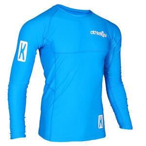 Kompressions T-Shirt in Premiumqualitä<wbr/>t_Spezielles Strechmaterial<wbr/>_Farbe blau