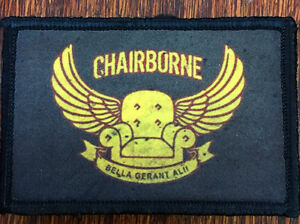 Chairborne Ranger Morale Patch Tactical Military Army Hook