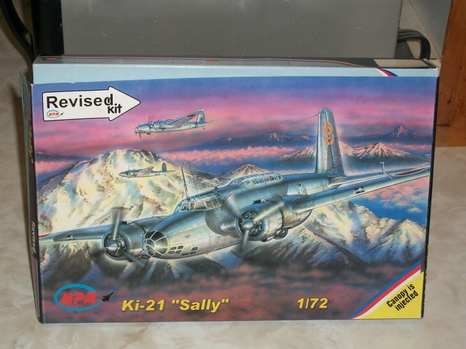 MPM 1 72 scale Ki-21  Sally