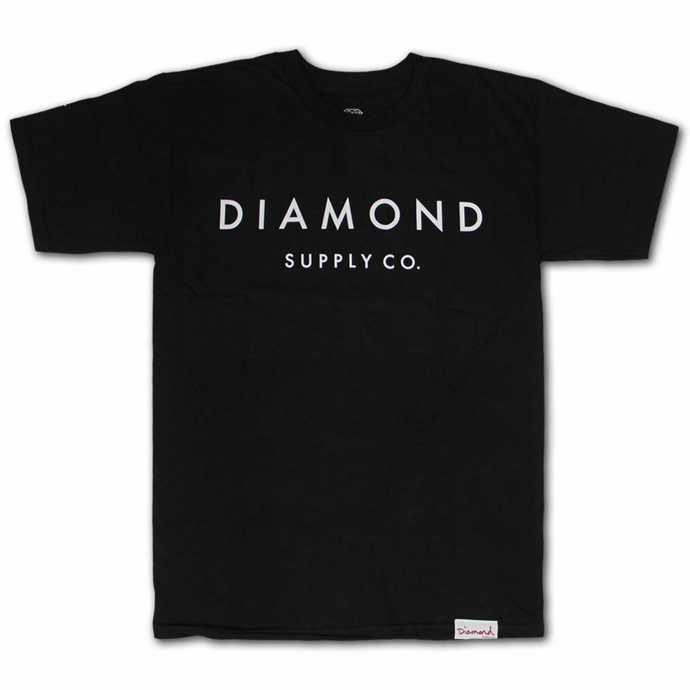 Diamond Supply Co Stone Cut T-shirt Schwarz