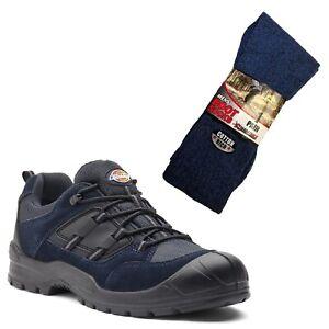 di Black da Dickies Navy boot 1 Scarpe da di Workers Everyday lavoro sicurezza calzini paio gqxwxdP8