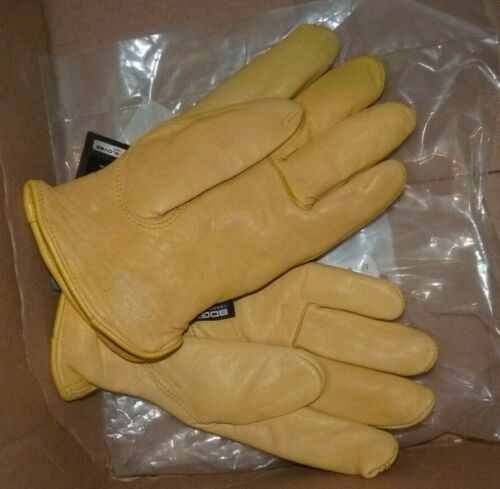 NEW BDG Bob Dale Gloves Thinsulate Lined Deerskin Driver XL NEW NWT