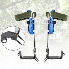 Treepole Climbing Spike Safety Belt Straps Adjustable Lanyard Rope Rescue Pair