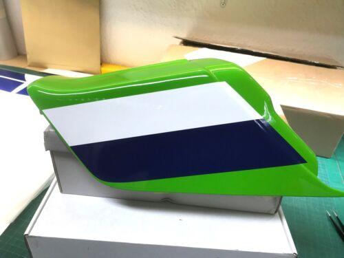 ELR limegreen -Farben einzeln Dekorsatz Decals Kawasaki Z 1000 R1