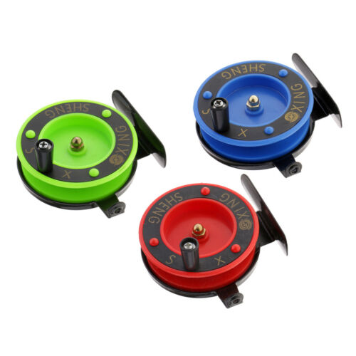 Ice Fishing Reel Fly Reels Mini Portable Smooth Winter Raft Fishing Tackle